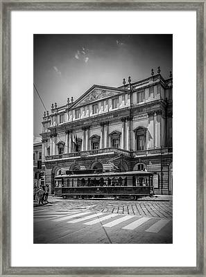 Milan Teatro Alla Scala Framed Print