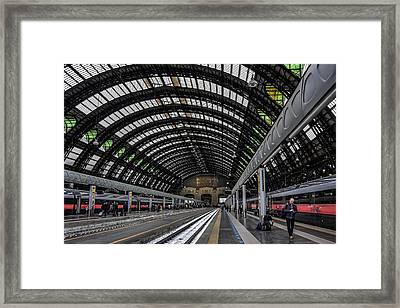 Milano Centrale Framed Print
