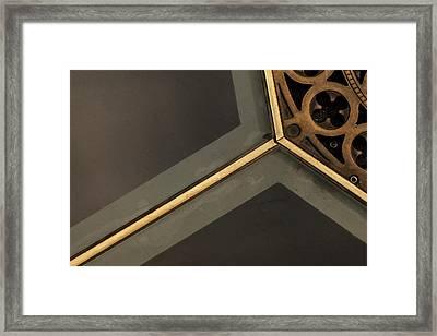 Milano Geometry 1 Framed Print by Art Ferrier