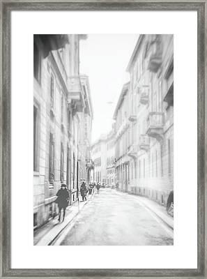 Milano Framed Print by Okan YILMAZ