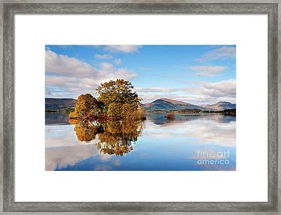 Milarrochy Bay Framed Print by Janet Burdon