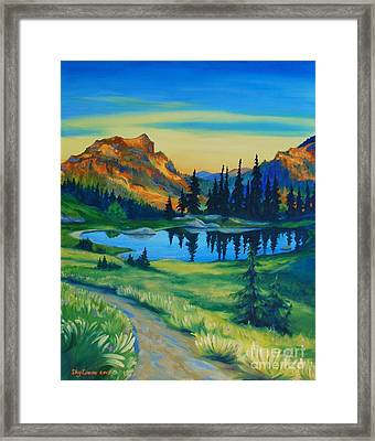 Mile 2330 On The Pct Framed Print by Sky Evans