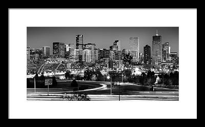 Denver City Framed Prints