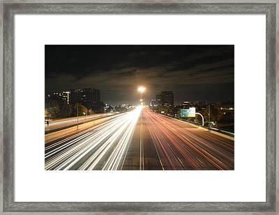 Mile Highway Framed Print
