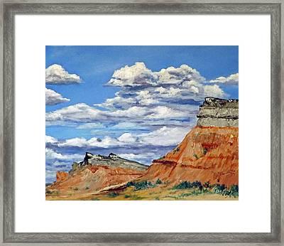 Mile Marker 34  /  1 Of 6 Framed Print