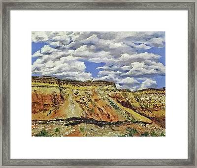 Mile Marker 34  /  3 Of 6 Framed Print