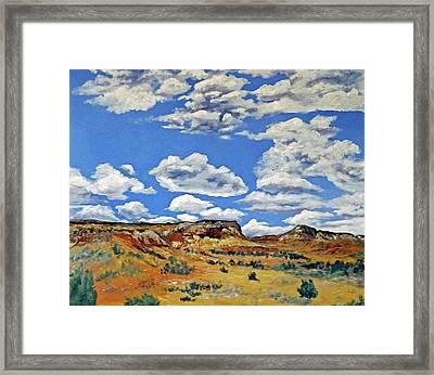 Mile Marker 34  /  4 Of 6 Framed Print