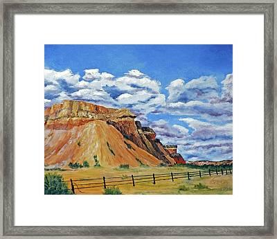Mile Marker 34  /  5 Of 6 Framed Print