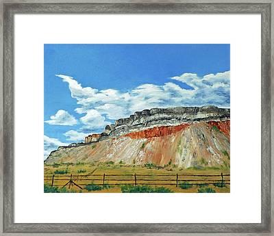 Mile Marker 34  /  6 Of 6 Framed Print