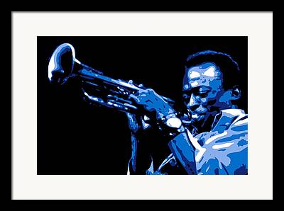 African Americans Musicians Framed Prints
