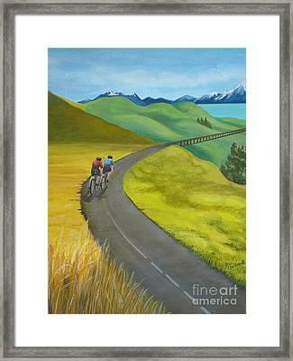Miles To Go Framed Print by Kris Crollard