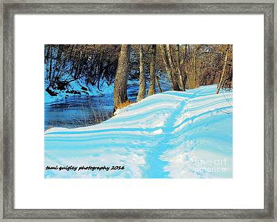 Miles To Go Framed Print by Tami Quigley