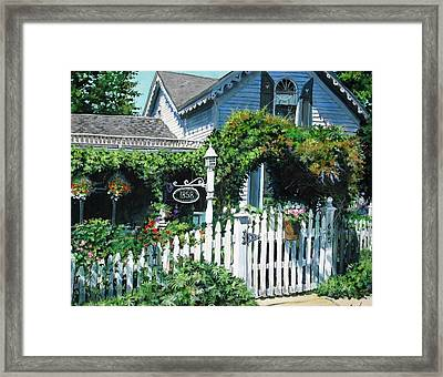 Milford House Framed Print by William  Brody