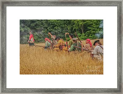 Framed Print featuring the digital art Milita On The Flank by Randy Steele
