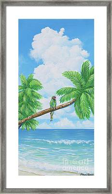 Military Camouflage Framed Print