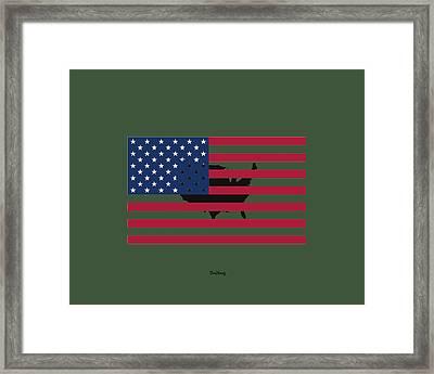 Military Man Framed Print