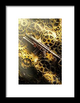 Sharpshooter Framed Prints