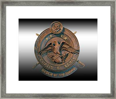 Military Order Of The Sword Plaque Framed Print