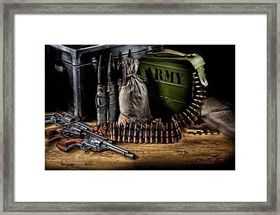 Military Still Life Framed Print by Andrey Skat