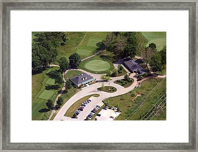 Militia Hill Clubhouse Philadelphia Cricket Club Framed Print