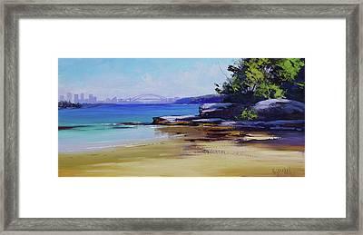 Milk Beach Sydney Framed Print