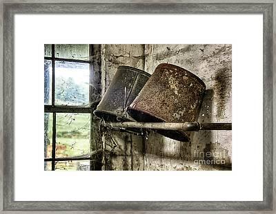 Milk Room Framed Print by John Greim