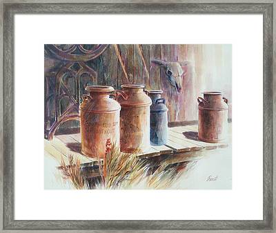 Milk Run Framed Print by Don Trout