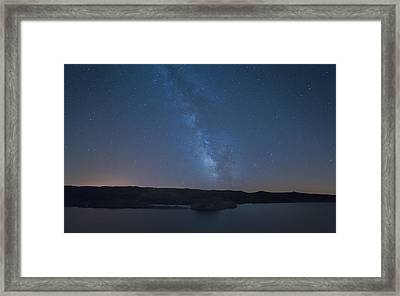 Framed Print featuring the photograph Milky Lagoon by Bruno Rosa