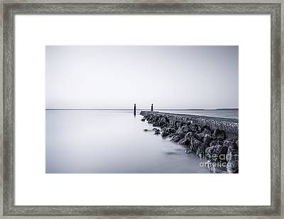 Milky Sea Framed Print