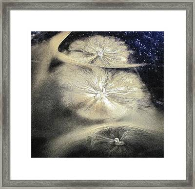 Milky Way Babies Framed Print by John King