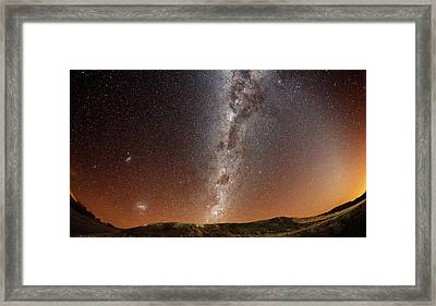 Milky Way Framed Print by (c) 2010 Luis Argerich