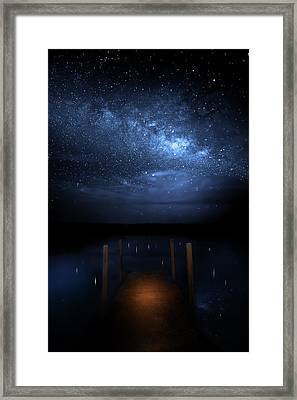 Milky Way Galaxy Framed Print by Mark Andrew Thomas