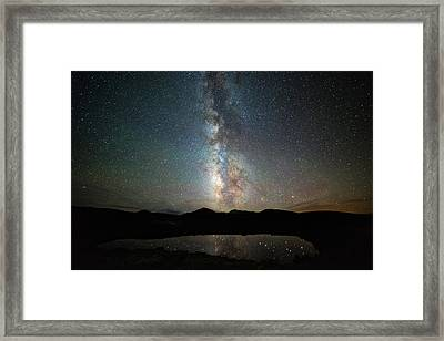 Milky Way Indy Pass Framed Print by Darren White
