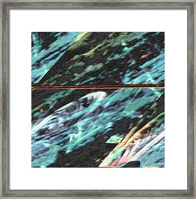 Milky Way Framed Print by Lenore Senior
