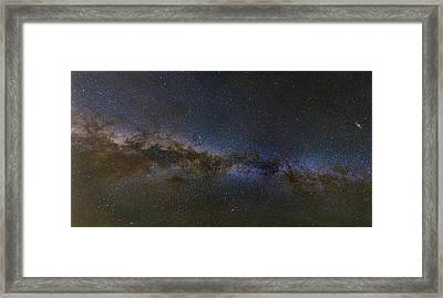 Milky Way South Framed Print by Charles Warren