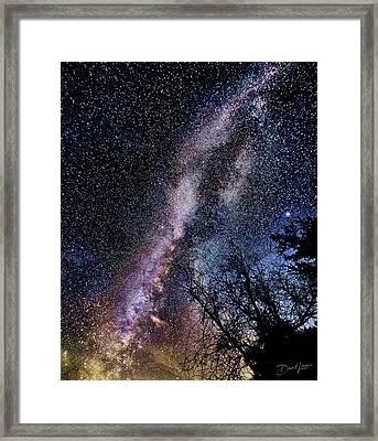 Milky Way Splendor Framed Print