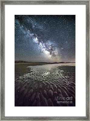 Milky Way Tide Pool Framed Print by Benjamin Williamson