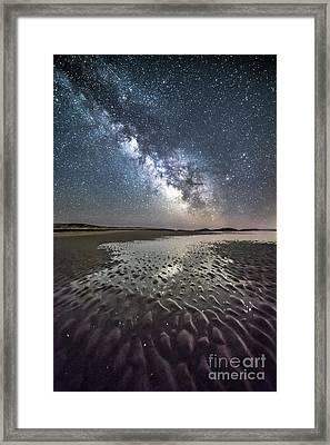 Milky Way Tide Pool Framed Print