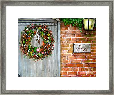 Mill Cottage Framed Print by Patrice Torrillo