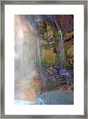 Mill Creek Falls 1 Framed Print