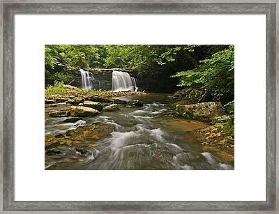 Mill Creek Falls  West Virginia Framed Print
