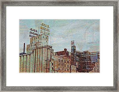 Mill District Minneapolis Framed Print by Susan Stone