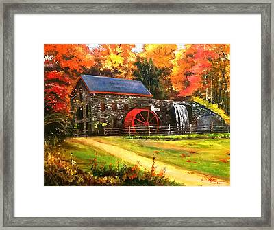Mill House Framed Print