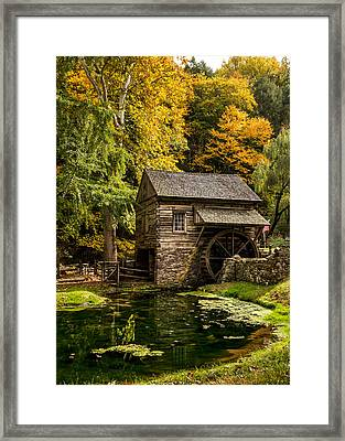 Mill Pond Framed Print