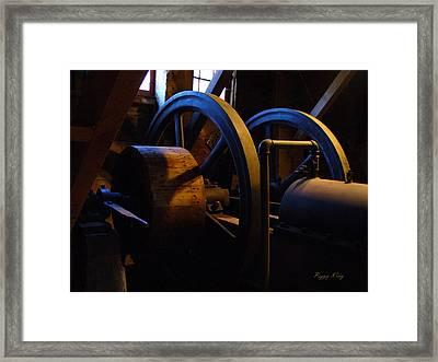 Mill Power Framed Print