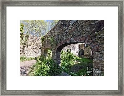Mill Ruins Hayle Framed Print by Terri Waters