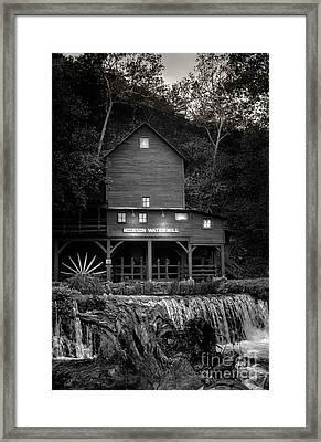 Mill Stream - Evening Framed Print