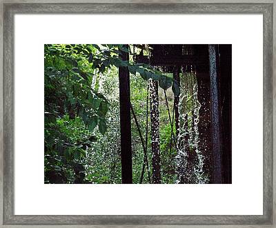 Mill Water Framed Print by Michael L Kimble