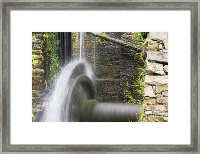 Mill Wheel Framed Print