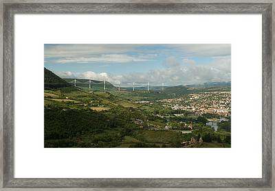 Millau Framed Print by Stephen Taylor